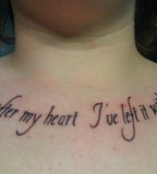 Nice Tattoo Quotes On Chest