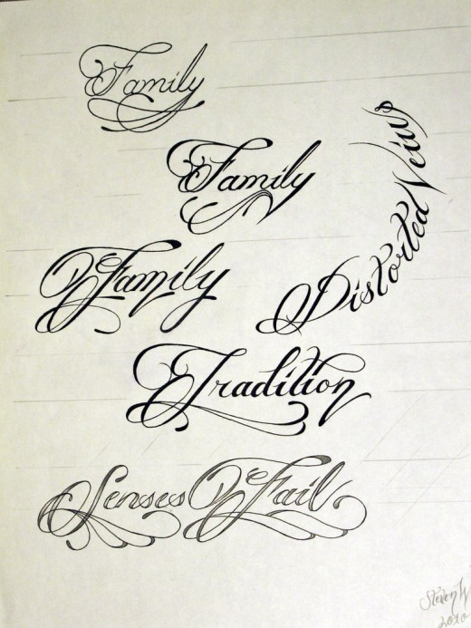 Best Tattoo Script Font Maker - | TattooMagz › Tattoo Designs / Ink