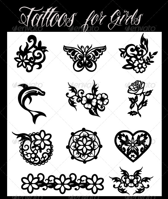 Vectors Tattoos For Girls