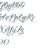 Vtcnue Tattoo Script Font