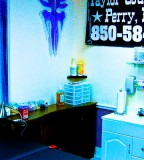 Finishing Dry Wall Tattoo Shop in Tallahassee