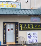 Tattoo's Mad Tatter Tatto Shop Air Force Base Houston Restaurant Bank