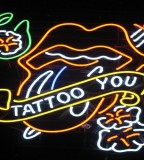 Tattoo And Piercing Neon Signs For Tattoo Shop Las Vegas
