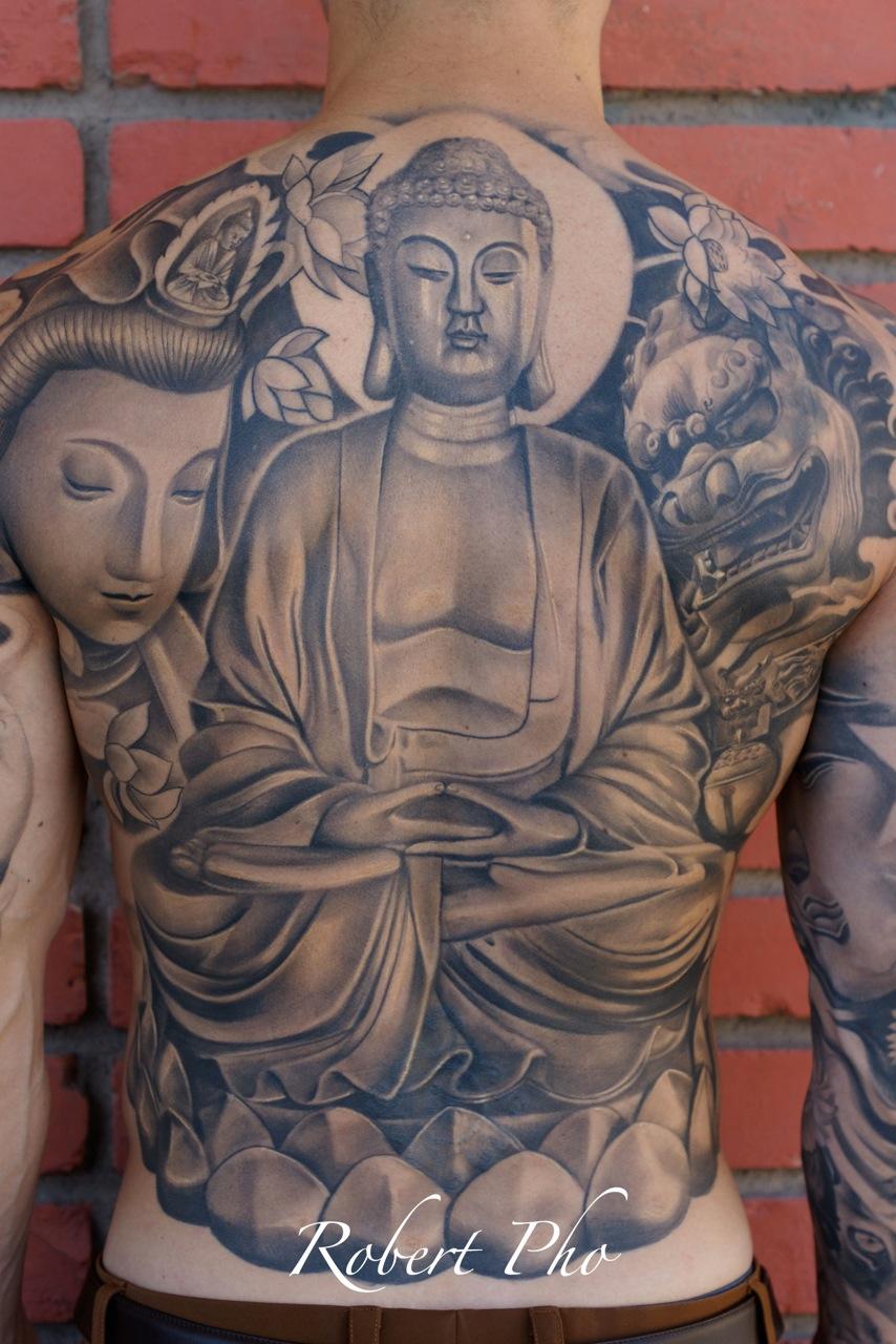 Budha Back Tattoo Tattoomagz Tattoo Designs Ink Works Body