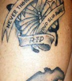 Rest In Peace Tattoo