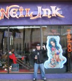 Vince Neil Tattoo Shop Las Vegas Christmas 2007 Photos From Damian