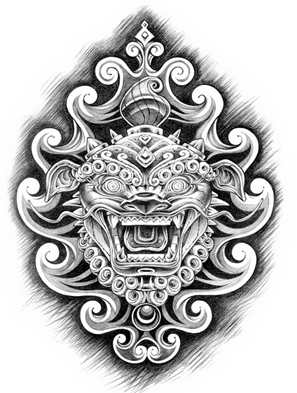Art Family Crest Luna Tattoos
