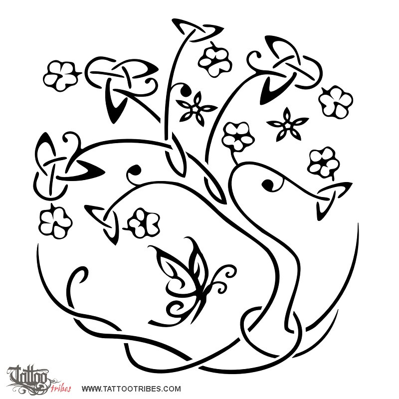 Symbol Celtic Tree of Life Tattoo