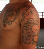 Elegan Tradition Design of Hawaiian Tattoos