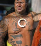 Tattooing Is Their Life on people Traditional Hawaii