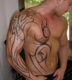 Cool Tradition Tribal Tattoos For Man