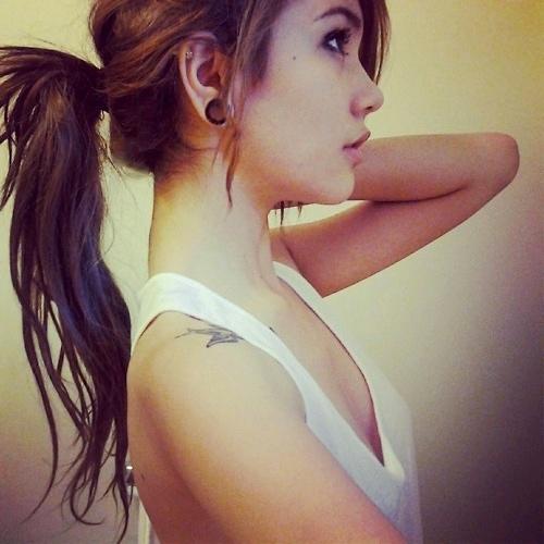 Shoulder Tattoo Girl