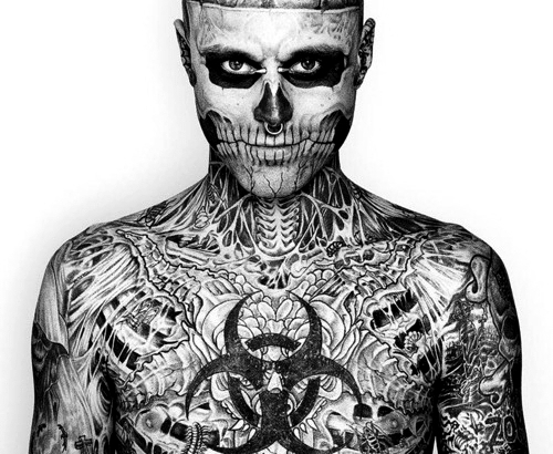 Body Tattoo and Piercings for Men