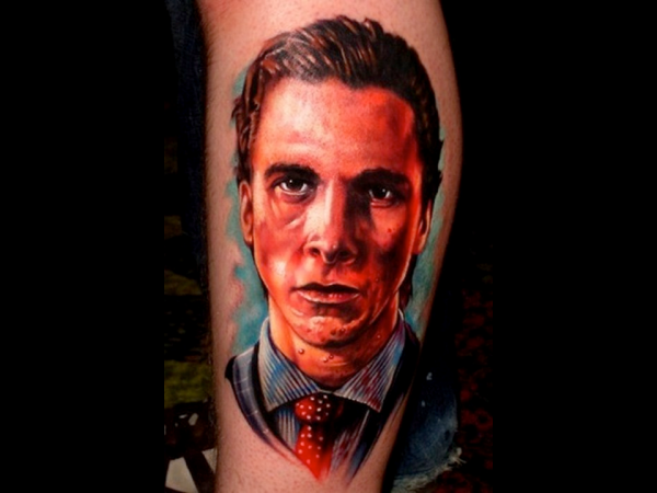 Colorful American Pop Culture Inspired Tattoo