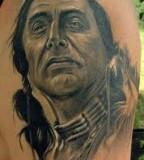 Gorgeous Heritage Tattoo Native American Arm Tattoo