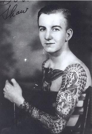 History of Full American Female Singer Theme Full Arm Tattoo