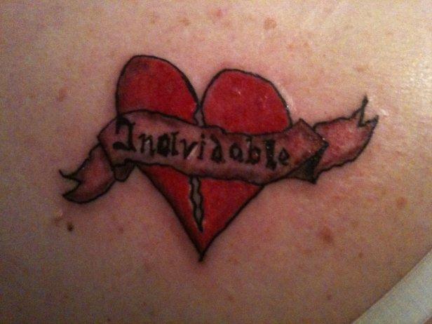 Broken Heart Tattoo Pictures