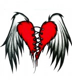 The Flying Wings of Broken Heart Tattoos