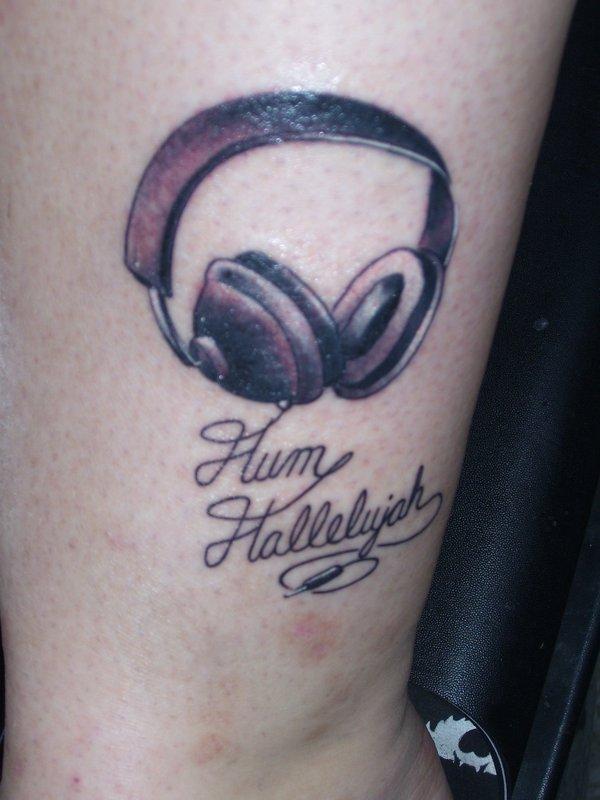 Hum Hallelujah Tattoo