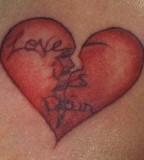 Love Is Pain Tattoo