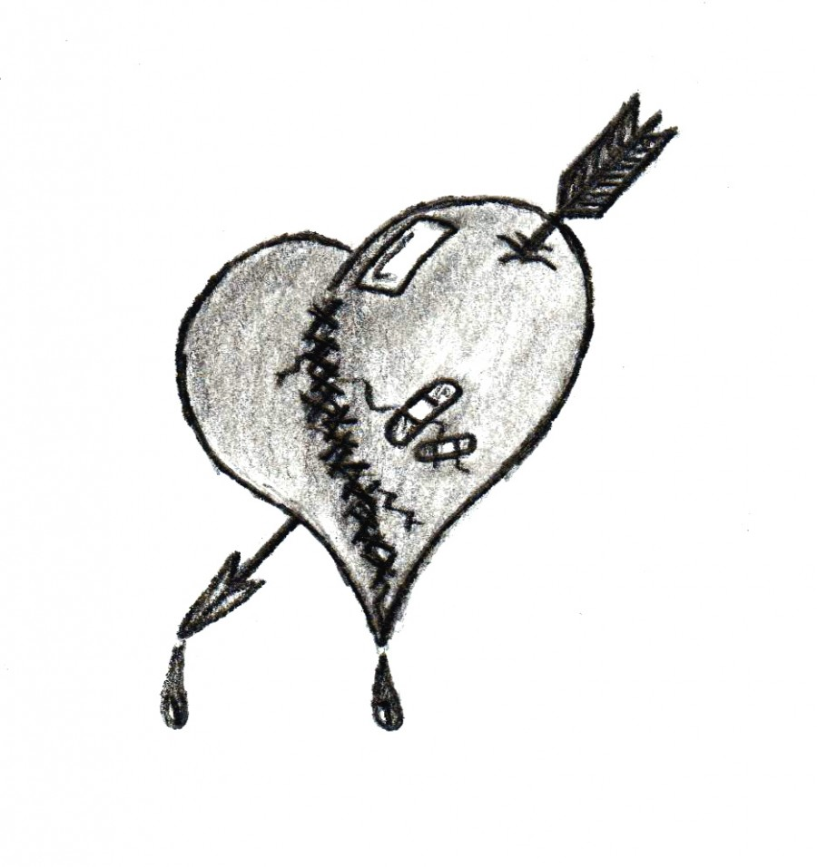 The Lovers Heart Tattoo