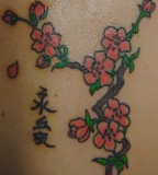 Cherry Blossom Tattoo Design By Exquisitedistraction