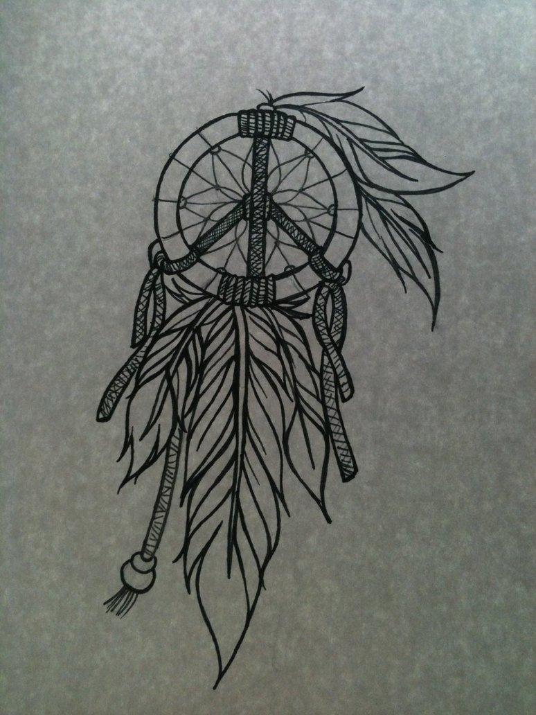 133896b7a Dream Catcher Tattoo Sketch on Deviantart - | TattooMagz › Tattoo ...