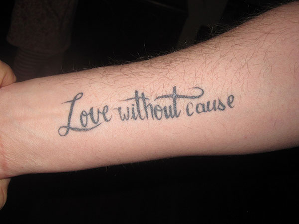 25 Warm Love Quote Tattoos Slodive
