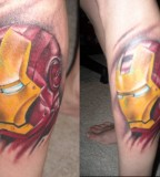 Iron Man Tattoo Cool Superero