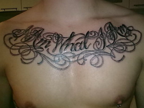 Masculine Chest Tattoos For Men
