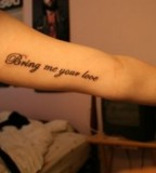 Quote Tattoos Inspirational Tattoo Quotes And Word Tattoos