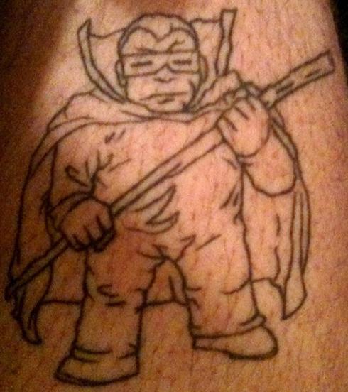 Tattoo Tuesday Radiohead Maniacs Mole Man & Art