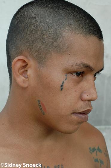 Gang Tattoo Tear Drop