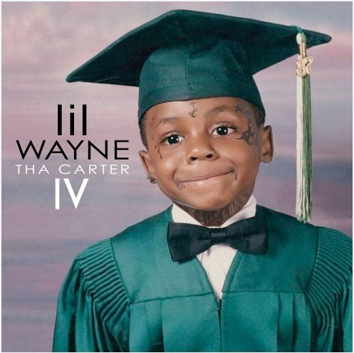 Album Covers Lil Wayne with Tear Drop Tatto