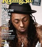 Rolingstone Magazine Model With Teardrop Tattoo
