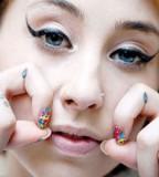 Kreayshawns Tattoos Teardrop Meanings