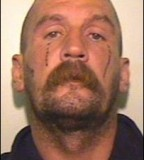 Old man Gangster Teardrop Tattoo