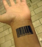 Tattoo Patrol The Barcode Tattoo by Suzanne Weyn