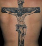 Tattoo Cross, Bible And Christian Verses