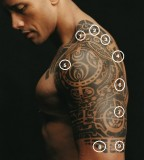 The Rock Tribal Tattoos For Men