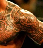 Awesome Hawaiian Tribal Tattoo Design Amp