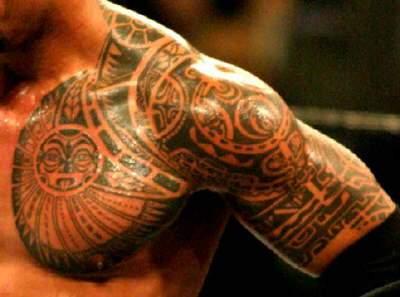 Awesome Hawaiian Tribal Tattoo Design Amp