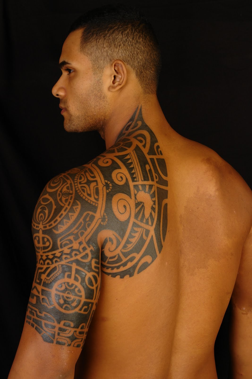 Amazing Tribal Tattoo Design for Men