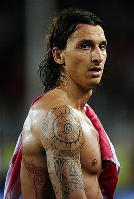 Zlatan Ibrahimovic Tattoos Designs