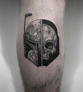thomasbatestattoo-boba-fett-skull-tattoo