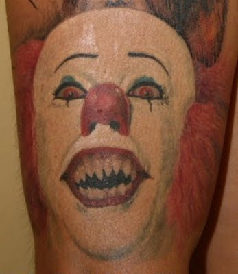 Adele Tattoo Clown Tattoos Design Pictures 2012 Latest