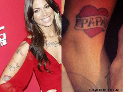 Christina Perris Tattoos Amp Meanings