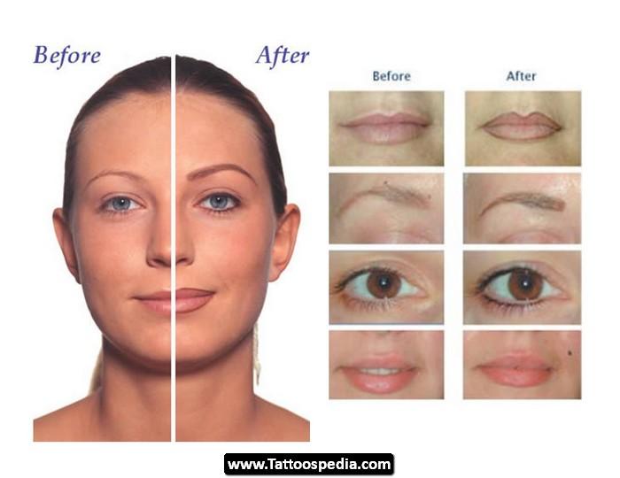 3 Dots Tattoo Meaning: Eyeliner Tattoo Design Idea 06 -