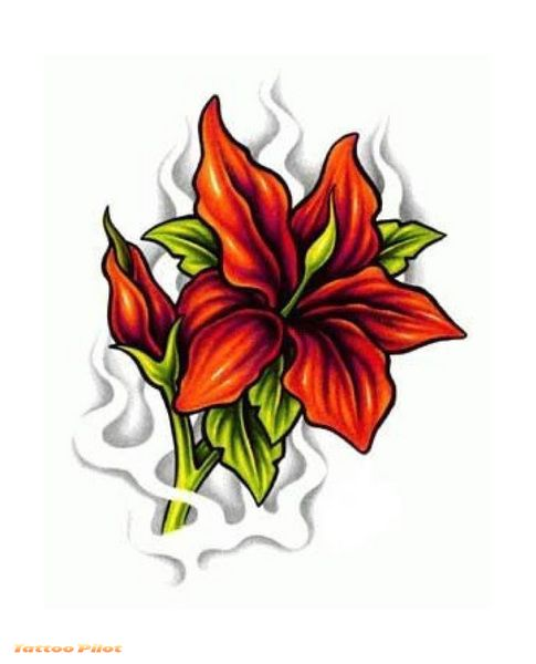 Lily Flower Tattoo Designs Timeless Symbols Of Expression for Women