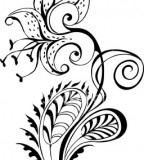 Tiger Lily Tattoo Flowers Sketch Design